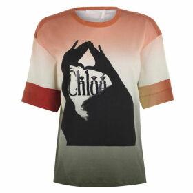 Chloe Logo T Shirt