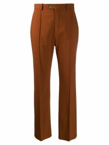 Chloé high waist tailored trousers - Brown