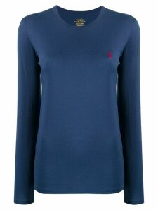 Polo Ralph Lauren logo sweatshirt - Blue