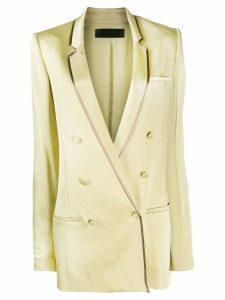 Haider Ackermann oversized double-breasted blazer - Green