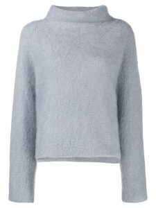 Fabiana Filippi roll neck jumper - Blue