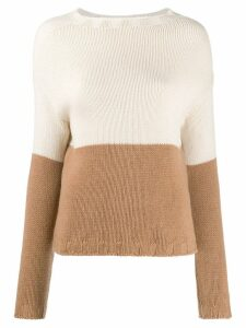 Aragona knitted jumper - NEUTRALS