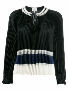 3.1 Phillip Lim tied-neck pleated blouse - Black