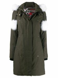 Moose Knuckles Stirling parka coat - Green