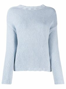 Aragona crew-neck cashmere sweater - Blue