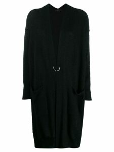 Diesel pierced cardigan - Black