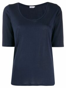 Filippa-K scoop neck T-shirt - Blue