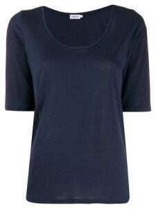 Filippa-K scoop neck T-shirt - Blue
