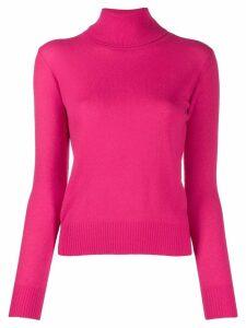 Aragona rollneck cashmere sweater - PINK