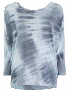 Raquel Allegra Cocoon sweatshirt top - Blue
