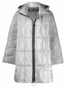 Ienki Ienki hooded padded coat - Silver
