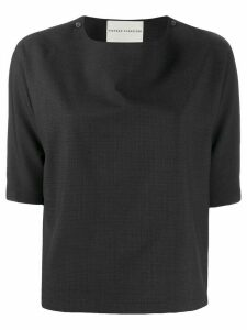Stephan Schneider short-sleeved Loop top - Grey