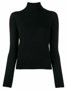 Aragona rollneck cashmere sweater - Black