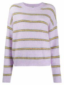 Acne Studios striped jumper - Purple