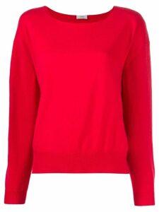 Closed cashmere fine knit jumper - Red