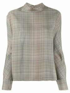 Stephan Schneider relaxed-fit Leafless blouse - NEUTRALS