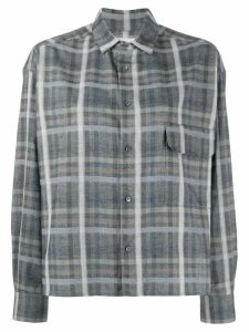 Stephan Schneider plaid Conifers shirt - Grey