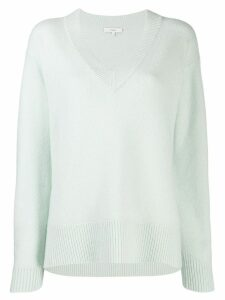 Vince cashmere V-neck jumper - Green