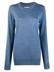 Maison Margiela thumb-hole jumper - Blue