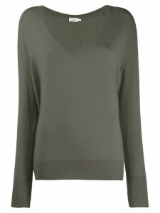 Filippa K fine knit V-neck jumper - Grey