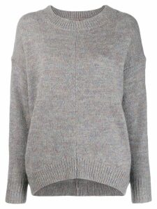 Isabel Marant Étoile loose-fit crew neck jumper - Grey