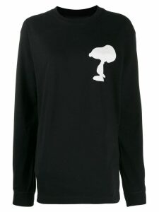 Marc Jacobs Snoopy print sweater - Black