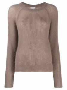 Filippa-K round neck knitted jumper - NEUTRALS