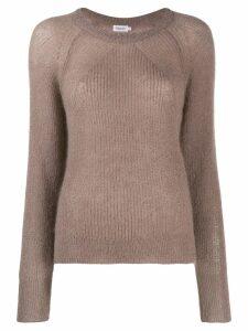 Filippa-K round neck knitted jumper - NEUTRALS