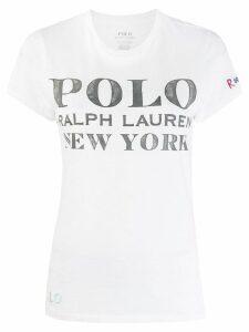 Polo Ralph Lauren logo T-shirt - White