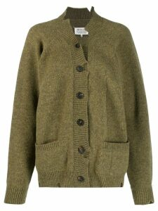 Maison Margiela Destroyed cardigan - Green