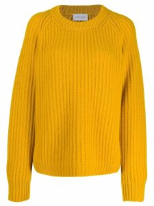 Christian Wijnants chunky knit jumper - Yellow