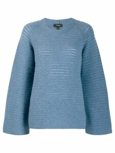 Theory oversized jumper - Blue