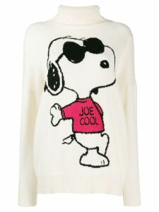 Chinti & Parker Joe Cool printed jumper - White