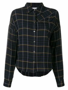 Derek Lam 10 Crosby plaid shirt - Blue