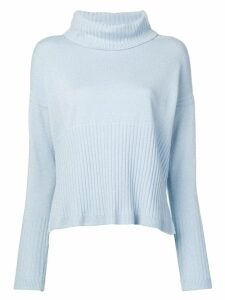 Derek Lam 10 Crosby turtleneck sweater - Blue