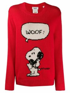 Chinti & Parker Snoopy jumper - Red