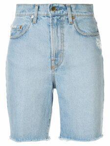Nobody Denim Tyler denim shorts - Blue