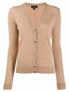 Theory slim-fit cashmere cardigan - Brown