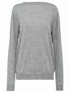 Prada worsted jumper - Grey