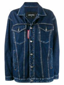 Dsquared2 straight-fit denim jacket - Blue