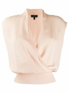 Theory sleeveless draped top - Shell pink