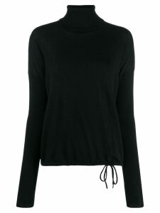 Odeeh roll-neck sweater - Black