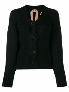 Nº21 knitted cardigan - Black