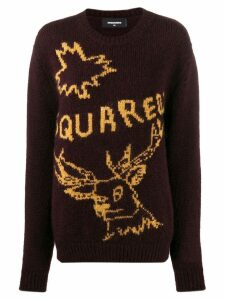 Dsquared2 logo knit jumper