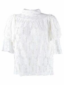 Isabel Marant Étoile Victorian lace blouse - White