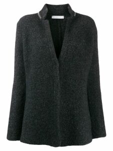 Fabiana Filippi classic fitted cardigan - Blue