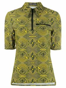 Kwaidan Editions eye print top - Yellow