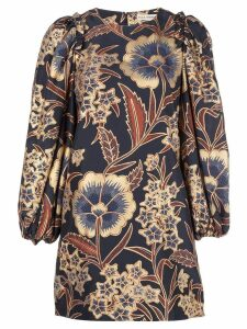 Ulla Johnson floral print shift dress - Blue