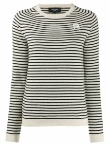 Rochas striped jumper - White