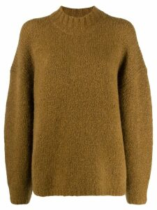3.1 Phillip Lim Long sleeve drop shoulder sweater - Green